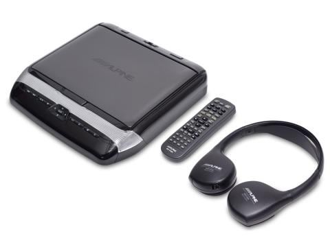 Overhead-Monitor-DVD-Player-HDMI-Remote-Control-Headset-10-inch-black-PKG-RSE3HDMI