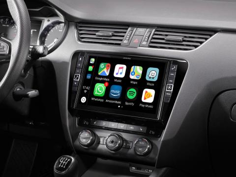 Skoda-Octavia-3-Navigation-System-X903D-OC3-with-Apple-CarPlay