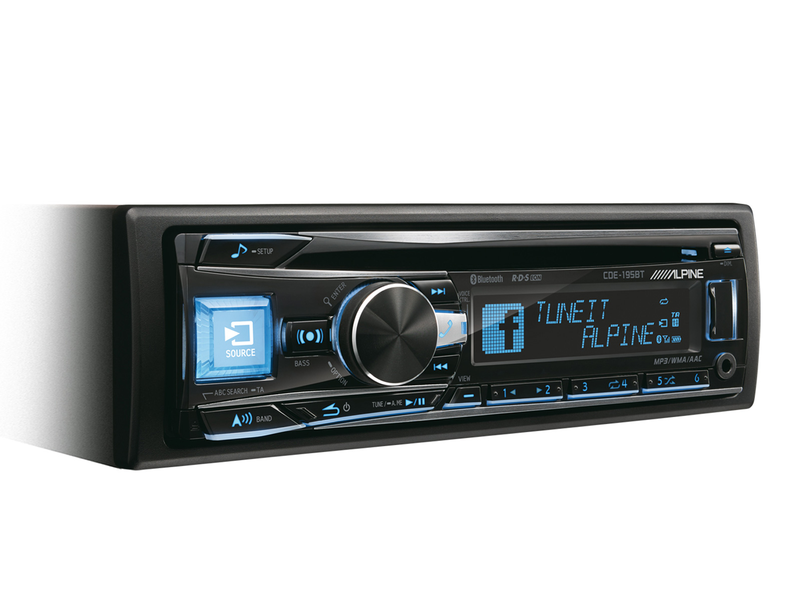 CD RECEIVER WITH BLUETOOTH - Alpine - CDE-195BT
