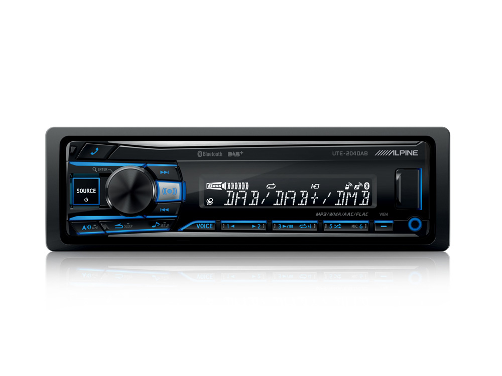 DIGITAL MEDIA/DAB RECEIVER WITH ADVANCED BLUETOOTH | Car Stereo