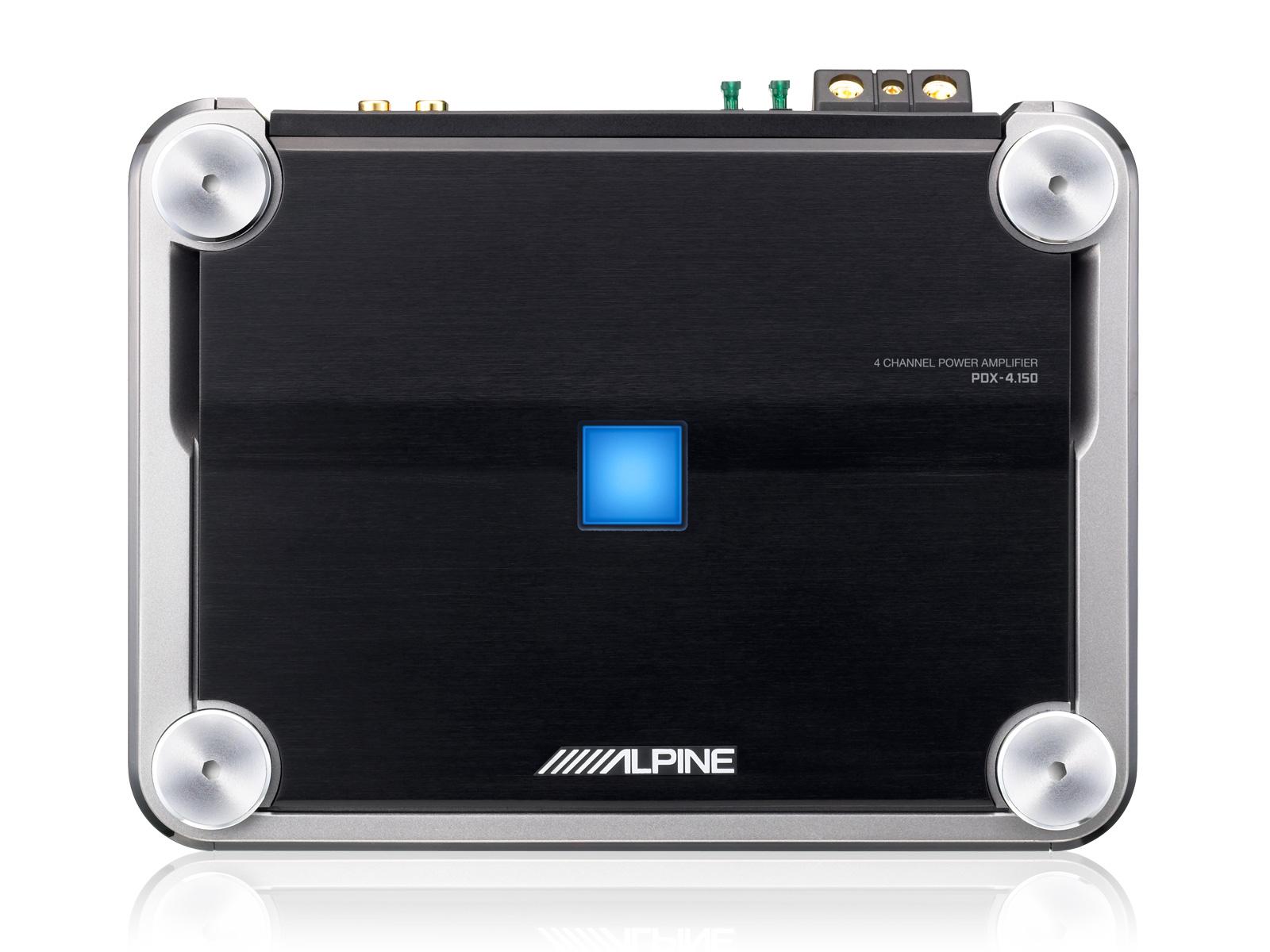 4 / 3 / 2 Channel Power Density Digital Amplifier - Alpine