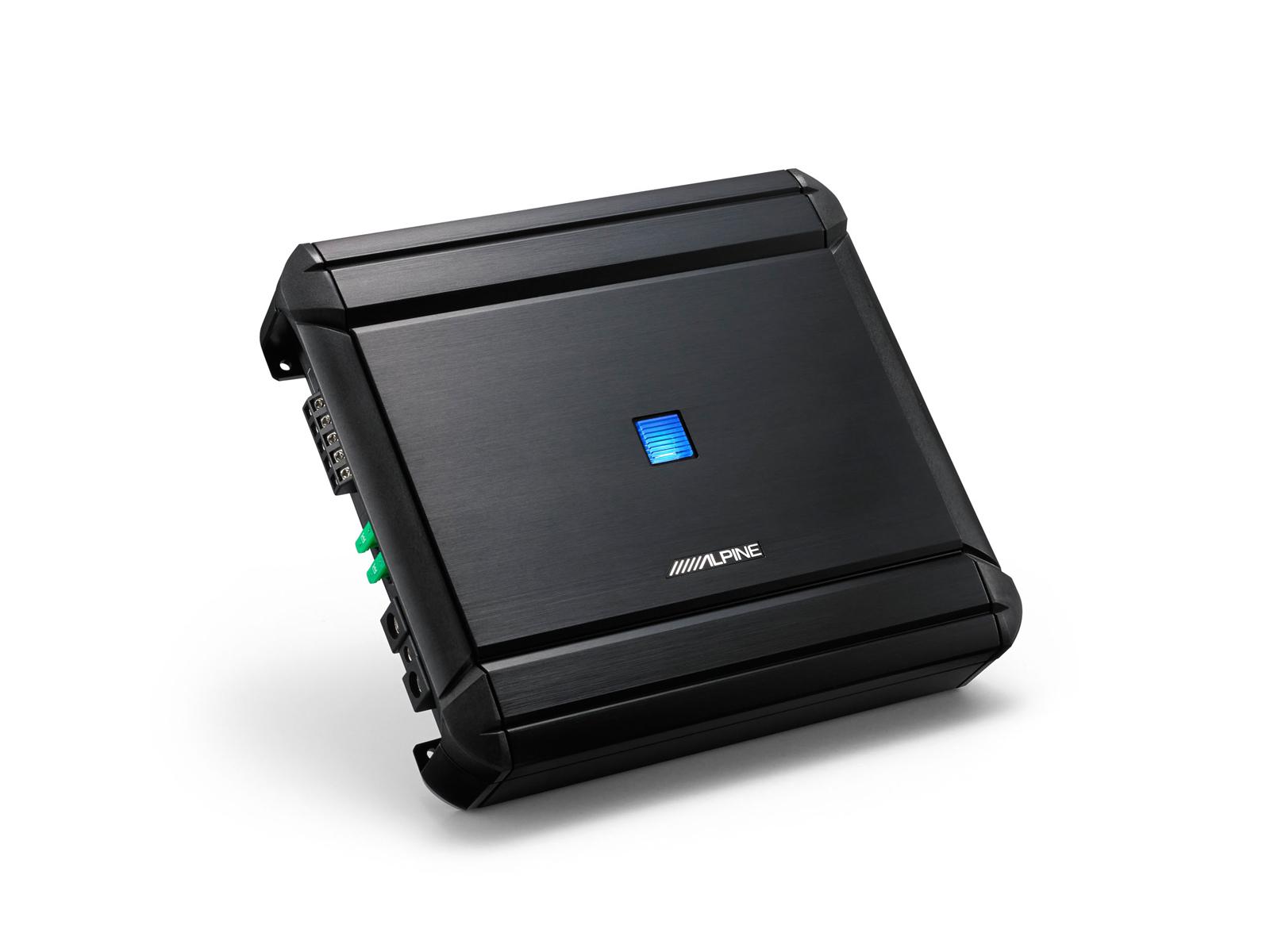 4 Channel Mono Digital V Power Amplifier Alpine Mrv V500 Pwm Generator And Class D