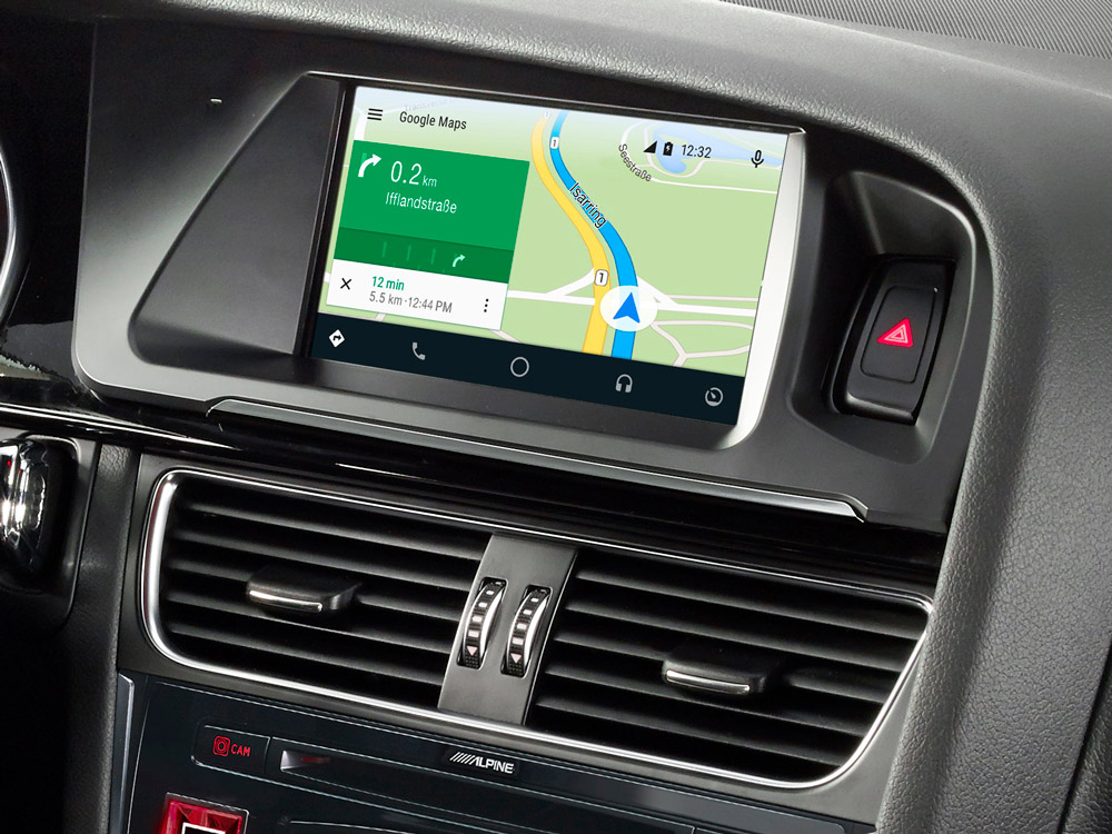 Hedendaags 7-inch Touch Screen Navigation for Audi A4 with TomTom maps IM-15