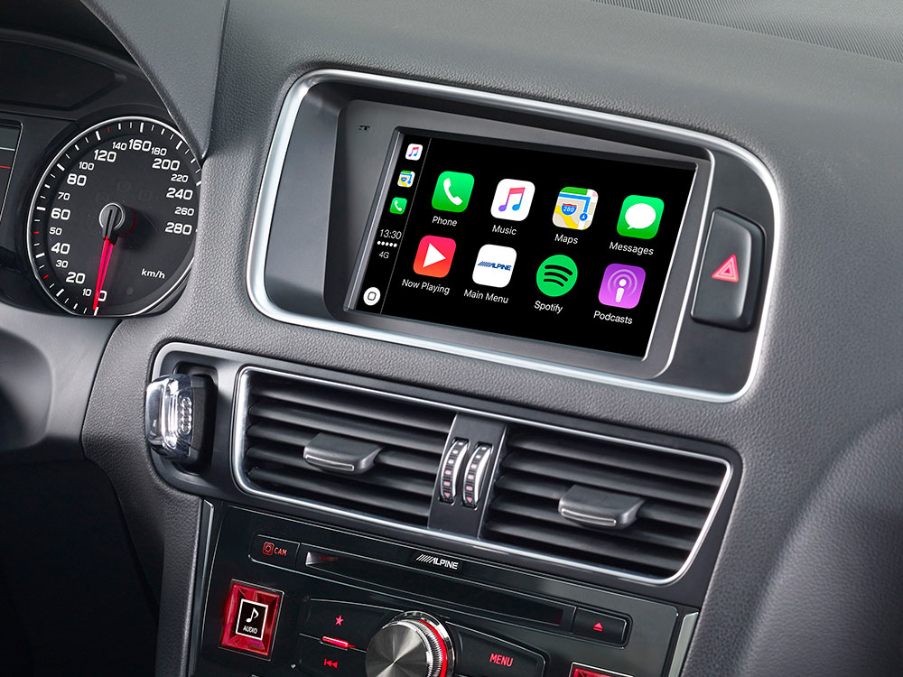 Welp 7-inch Touch Screen Navigation for Audi Q5 with TomTom maps HJ-18