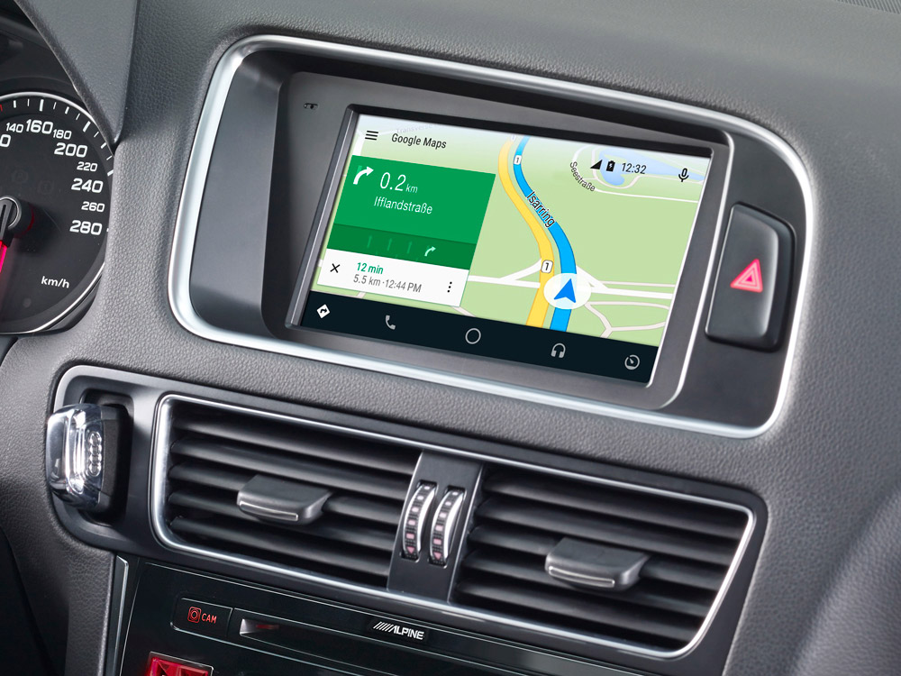 Spiksplinternieuw 7-inch Touch Screen Navigation for Audi Q5 with TomTom maps LE-76