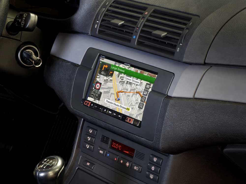 7 Inch Navigation System Designed For Bmw 3 Series E46