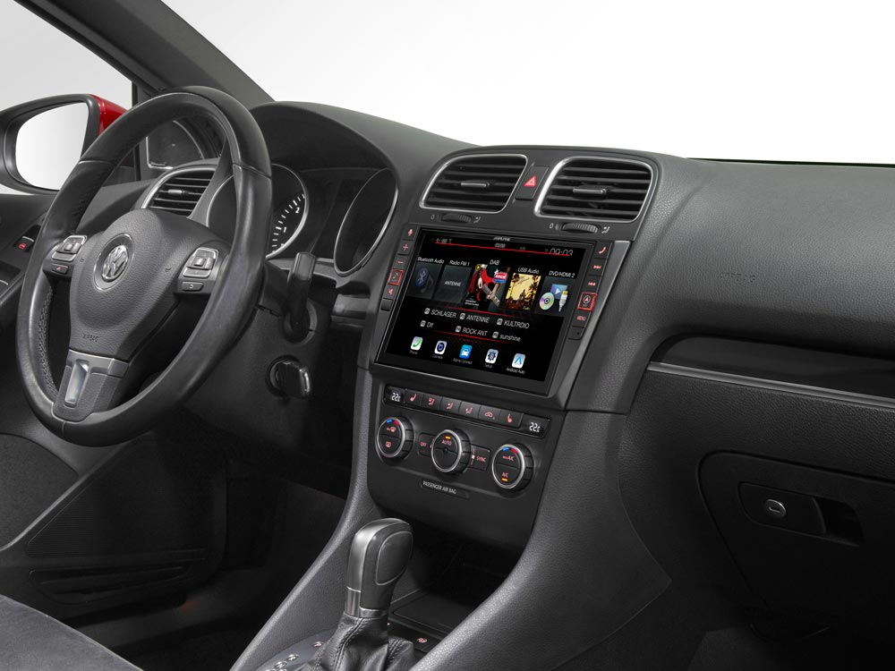 """9"""" Touch Screen Navigation for Volkswagen Golf 6 with TomTom maps"""