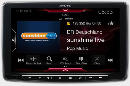 INE-F904D - Built-in DAB+ Digital Radio