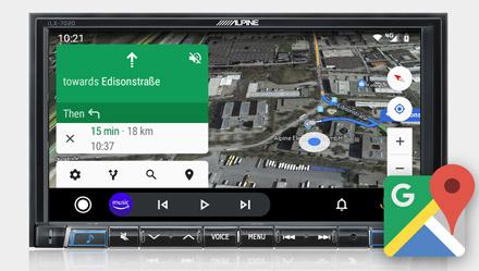 Google Maps - iLX-702D