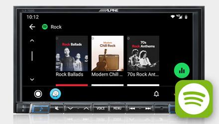 Spotify - iLX-702D