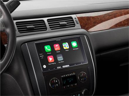 In Dash Digitale Media Ontvanger Met Apple Carplay