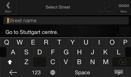 Advanced Address Input