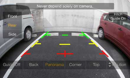 Multi View Rear Camera HCE-C252RD - Panorama View