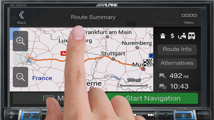 High Resolution Touch Screen