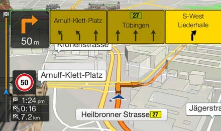 TMC Route Guidance