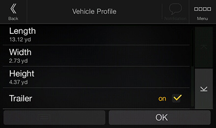 Vehicle Parameter Setting