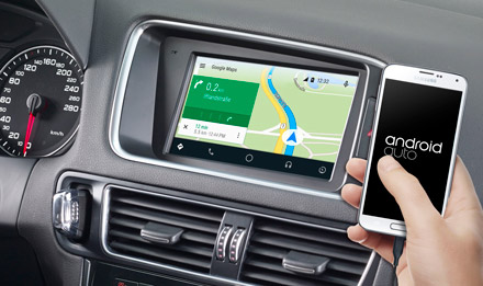 Online Navigation with Android Auto - X702D-Q5