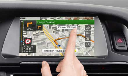 Audi A4 - Audi A5 - X701D-A4: High Resolution Touch Screen