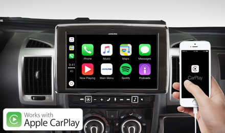 Ducato, Jumper and Boxer - Works with Apple CarPlay - i902D-DU