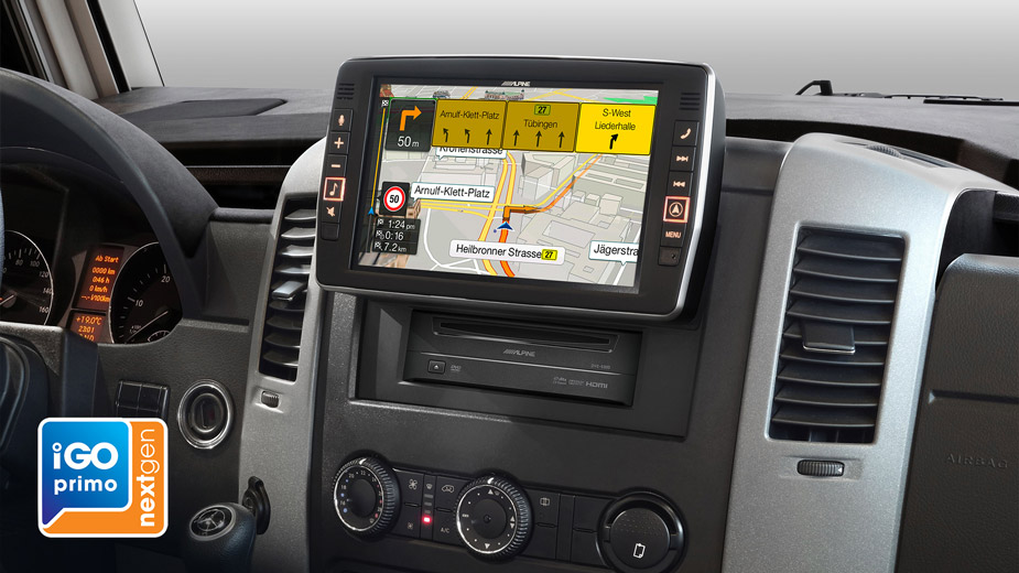 """9"""" Touch Screen Navigation for Mercedes Sprinter, compatible"""
