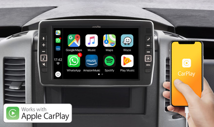 Mercedes Sprinter - Works with Apple CarPlay - X903D-S906