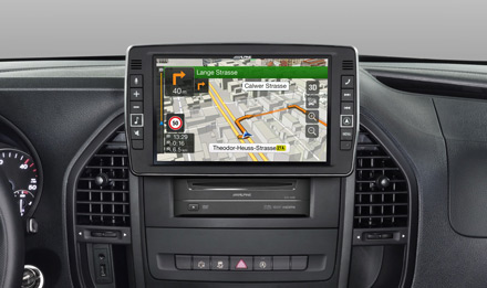 """9"""" Touch Screen Navigation for Mercedes Vito (447"""