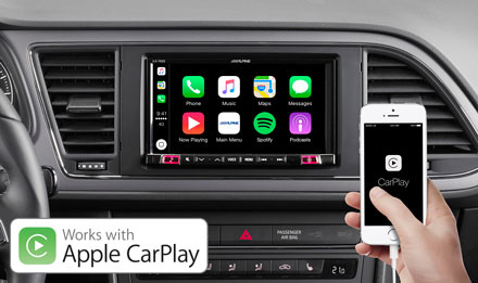 SEAT Leon - Works with Apple CarPlay - iLX-702LEON