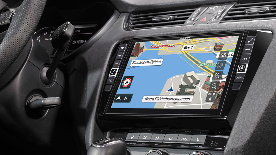 Alpine Style Navigation Designed for Skoda Octavia 3 - X901D-OC3