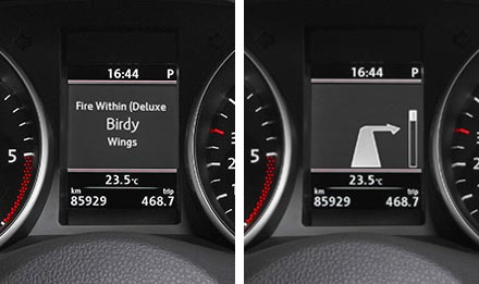 Golf 6 Driver Information Display X901D-G6