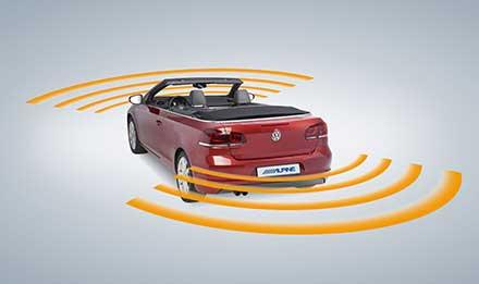 Golf 6 - Parking Sensors - X902D-G6