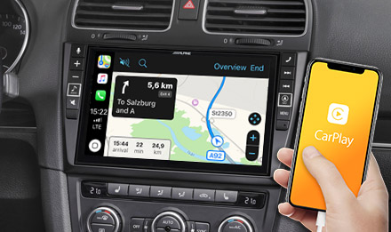 Online Navigation with Apple CarPlay - X903D-G6