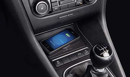 Golf 6 - Wireless Charging Console - KCE-G6QI