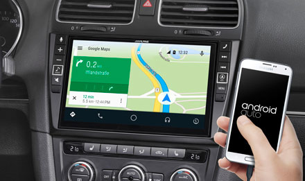 Online Navigation with Android Auto - i902D-G6