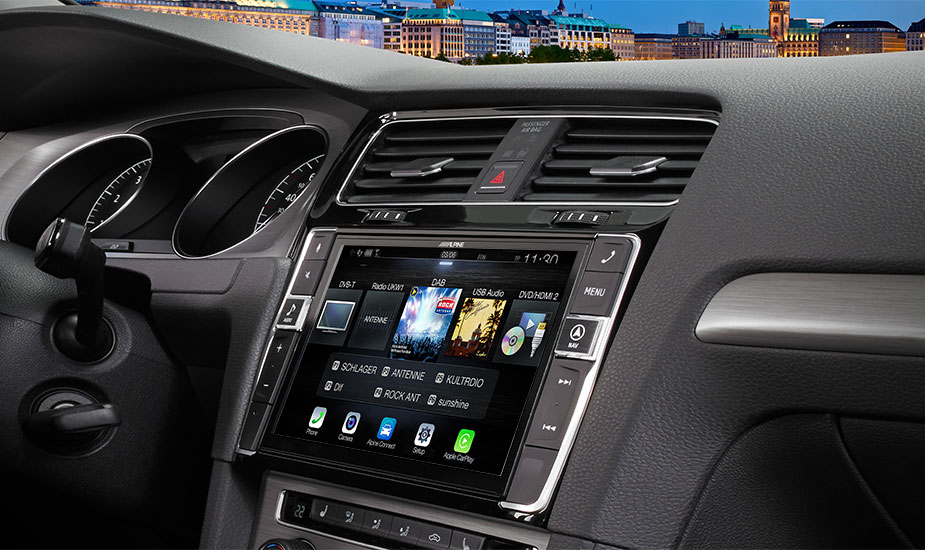 """Welp 9"""" Touch Screen Navigation for Volkswagen Golf 7 with TomTom maps PQ-09"""