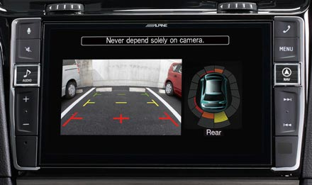 """9"""" Touch Screen Navigation for Volkswagen Golf 7 with TomTom maps"""