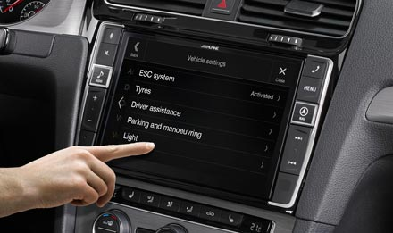 Golf 7 - Vehicle System Setup  - X902D-G7