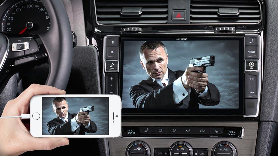 Golf 7 - Big Screen Entertainment - X903D-G7