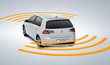 Golf 7 - Parking Sensors - X903D-G7