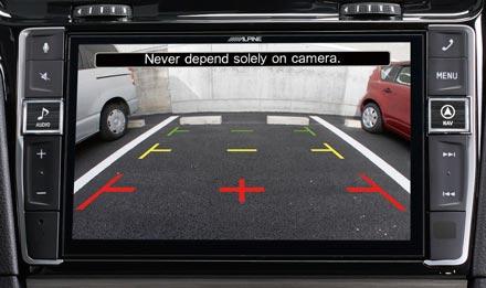 Golf 7 - Rear View Camera - X903D-G7