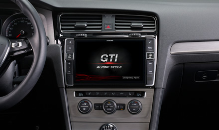 Golf 7 - Start-up Logo GTI - i902D-G7