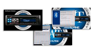 Alpine cde-133bt firmware update code 0000 youtube.