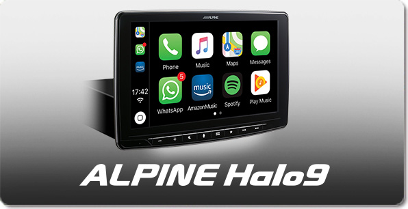 "9"" Screen. Digital Media Station, featuring Apple CarPlay and Android Auto compatibility - iLX-F903D"