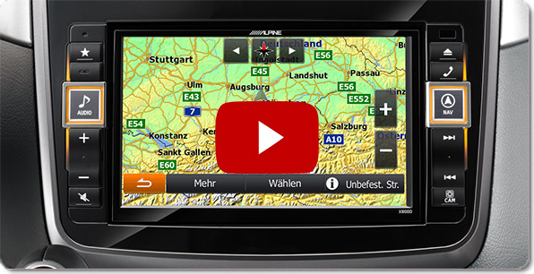 Alpine Style Navigatie voor Mercedes | Video's