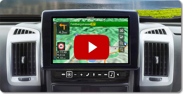 Alpine Style Navigatie voor Volkswagen ( VW Golf 7 ) | Video's